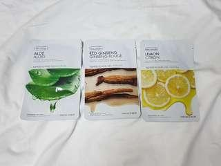 Korean face mask (3 for 200)