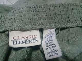 plus size pants.trousers.slacks
