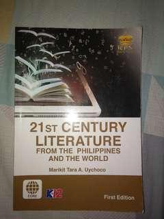 21st Century Literature from the Philippines and the world - Marikit Tara A. Uychoco
