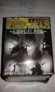 全新絕版Badboys glare of eyes vol2 盒蛋全7種連特別版 日本古惑仔figure