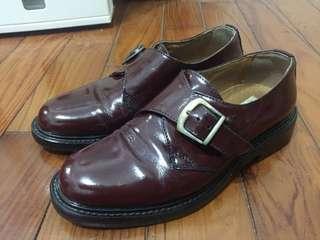 Unicorn 酒紅 皮鞋