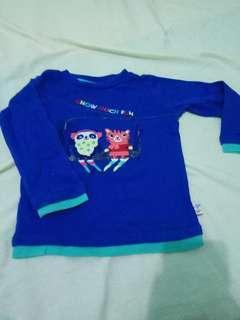 Long Sleeves Kaos Anak Perempuan Gymboree