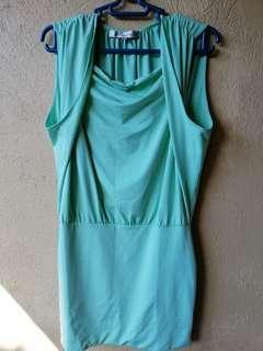 Teal Pastel Dress