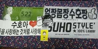 EXO Suho EXORDIUM JAPAN Charm Bracelet Bundle