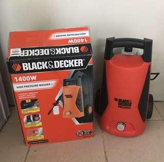 Black Decker High Pressure Washer