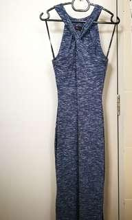 Dressing Paula Knit Cross Front Maxi Dress