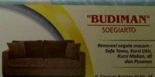 Menerima renovasi sofa