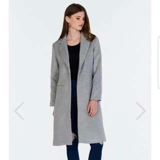 The Closet Lover Keepsake Wool Coat in XS
