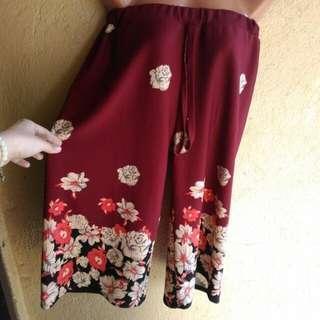 Cullotes Square Pants Set