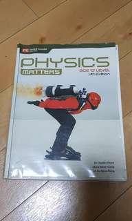 O level Physics Textbook (Physics Matters GCE 'O' Level 4th Edition)