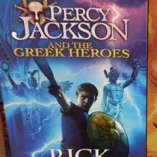 Percy Jackson and Greek Heroes