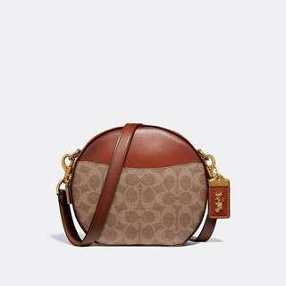 CANTEEN CROSSBODY IN SIGNATURE CANVAS STYLE NO: 38680