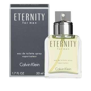 Eternity For Men 100ml 100% authentic