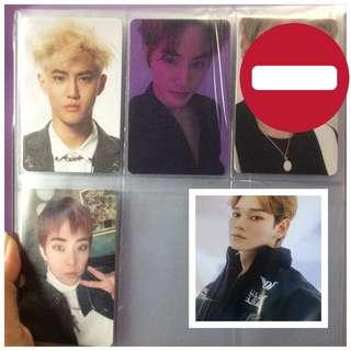 Photocard & poster EXO