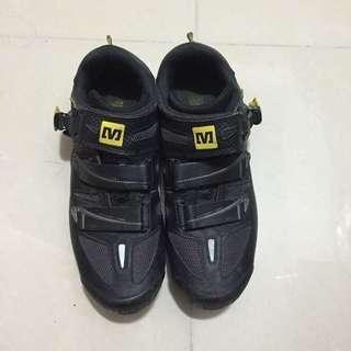 Mavic 山車Lock 鞋 size 40.5