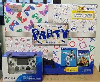 🚚 [BNIB] PS4 Slim Party Bundle with Extra controller