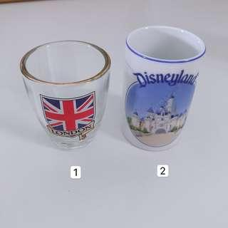Miniature Vintage Cups Collectibles