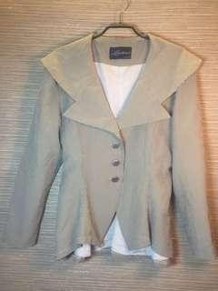 🚚 日系品牌 短版縮腰風衣外套