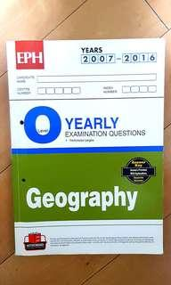 Geography ten-year series (O level yearly examination qiestions years 2007-2016)