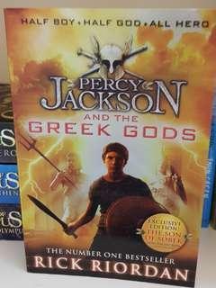 Percy Jackson and Greek Gods