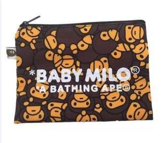 A Bathing Ape Bape Baby Milo Pouch