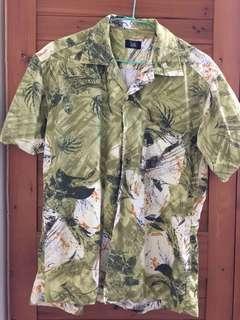 二手古著 夏威夷風短袖襯衫