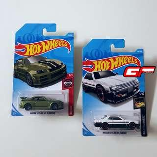HOT WHEELS SKYLINE LOT COMBO