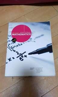 Additional mathematics (amath) 9th edition shinglee textbook
