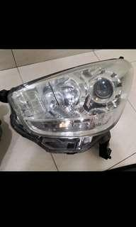 Original Myvi lagi best projector headlight headlamp lampu depan front light