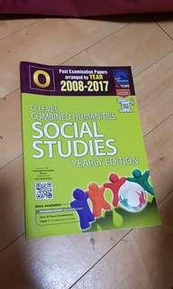 O level combined humanities social studies yearly edition 2008 to 2017