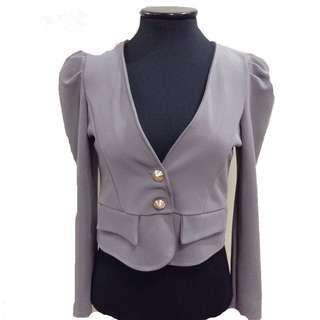 New:Gray blazer from Korea