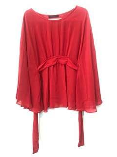 Red CNY Blouse