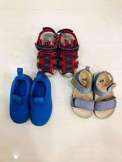 Toddler Shoes (Adidas, H&M, Bubblegummers)