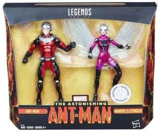 Marvel Legends Ant-Man and the Wasp boxset