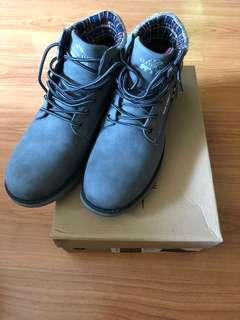 Winter Time Grey Boots