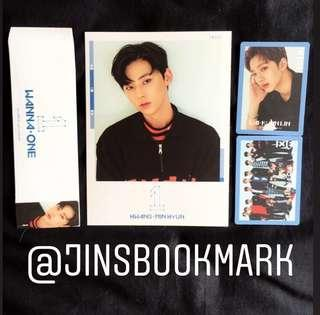 Wanna One To Be One Album Cover Card + PC Sky ver & Pink ver