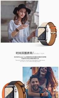 Iwatch apple watch leather strap