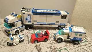 Lego 7288 police car