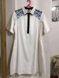 Bayo Zipper Front Dress