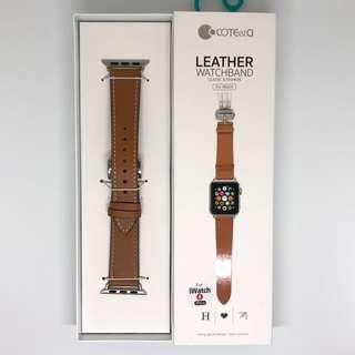 Apple Watch Strap Genuine Leather