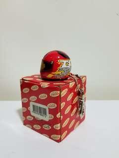 可口可樂超合金頭盔匙扣 (紅色)