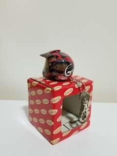 可口可樂超合金頭盔匙扣 (黑色)