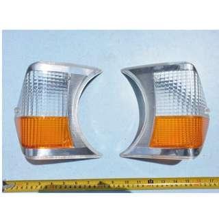 Renault R10 front signal lenses
