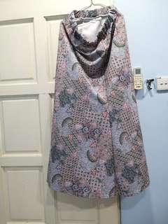 Flowy pattern skirt