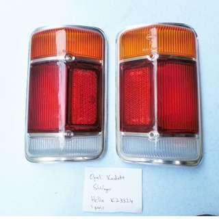 Opel Kadett B Caravan rear lights lense