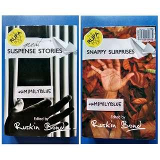 (2in1) The RUPA Book of Great Suspense Stories /Snappy Surprises