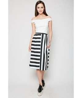 BNWT MDS Marlena Pants in Stripes