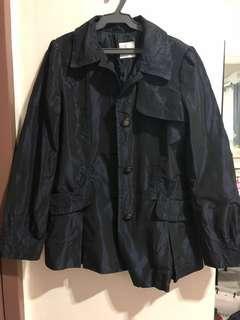 Navy Blue Parka Jacket