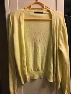 Heather 粉黃色薄外套