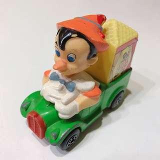 德國帶回 70年代 香港製造 外銷 海外 小木偶 玩具車